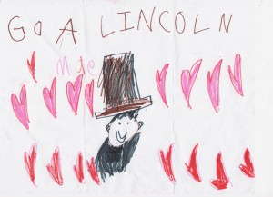 Abe Lincoln Drawing 2016